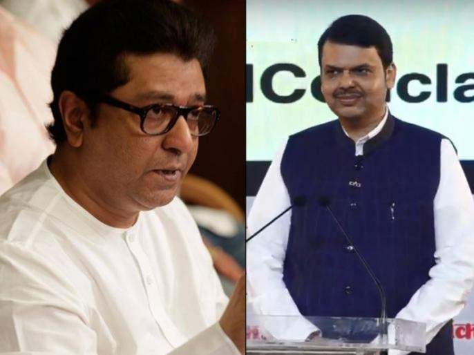 Raj Thackeray, with the alliance of assembly; Prediction of chief minister | राज ठाकरे विधानसभेला आघाडीसोबत; मुख्यमंत्र्यांचे भाकीत