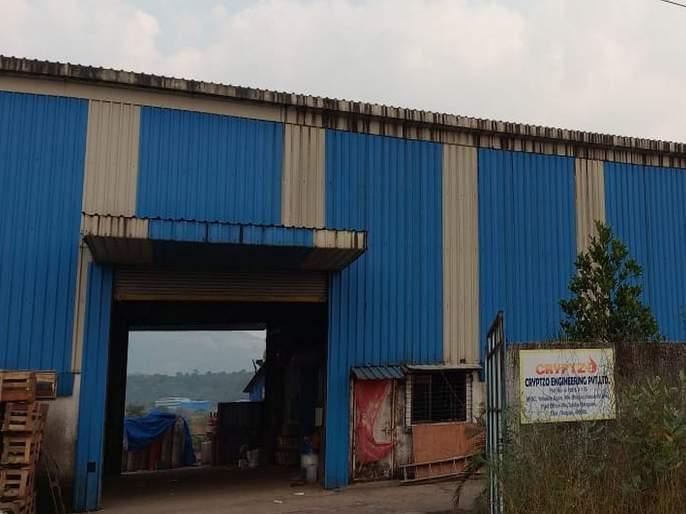 boiler cylinder blast at Cryptozo Engineering Company at raigad; 18 workers were injured | क्रिप्टझो इंजिनिअरींग कंपनीत सिलेंडरचा भीषण स्फोट; 18 कामगार जखमी