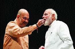 Modi-Shah's chemistry brings life to the BJP | मोदी-शहांच्या केमिस्ट्रीने आणली भाजपमध्ये जान