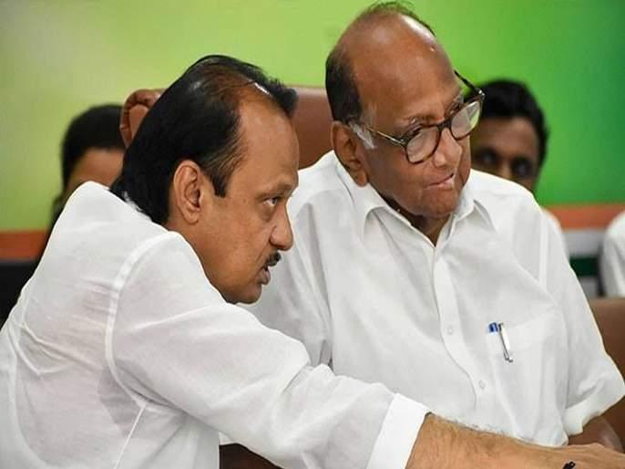 ...There was a sharp disagreement with Congress; Sharad Pawar left from congress meeting   ...त्या बैठकीत काँग्रेससोबत तीव्र मतभेद झाले; शरद पवारांचा मोठा गौप्यस्फोट