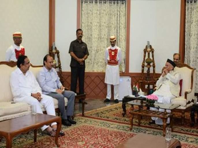 "We will be back by talking with Congress; NCP assured to Governor of maharashtra | महाराष्ट्र निवडणूक 2019: ""आम्ही परत येऊ""; राष्ट्रवादीचे राज्यपालांना मोठे आश्वासन"