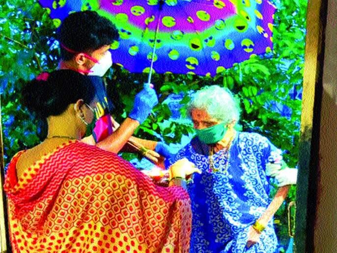 Ninety-year-old grandmother overcomes corona | नव्वद वर्षांच्या आजीची कोरोनावर मात