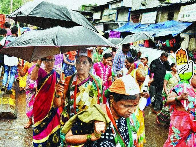Maharashtra Election 2019: all partys rally for election | Maharashtra Election 2019: शेवटच्या प्रचारात गल्लीबोळ पिंजून काढण्यावर भर