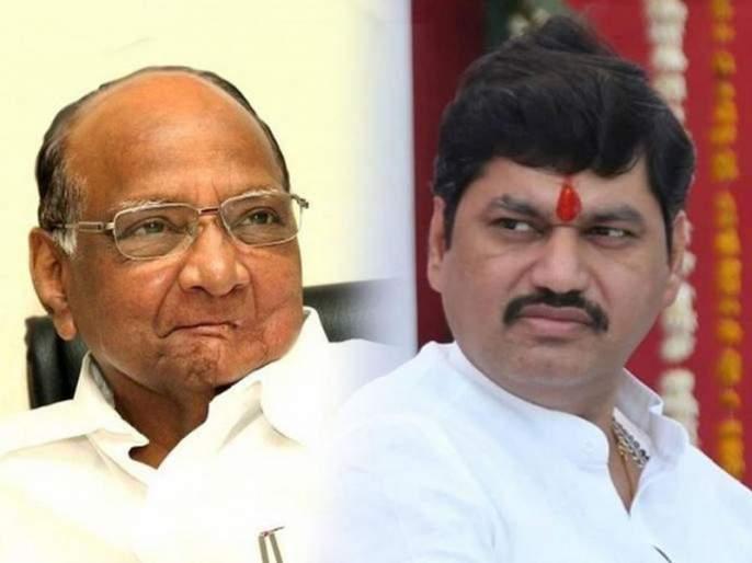 NCP's big decision regarding Dhananjay Munde; Meeting with Sharad Pawar at late night   धनंजय मुंडेंबाबत राष्ट्रवादीचा मोठा निर्णय; रात्री उशिरा झाली शरद पवारांसोबत बैठक