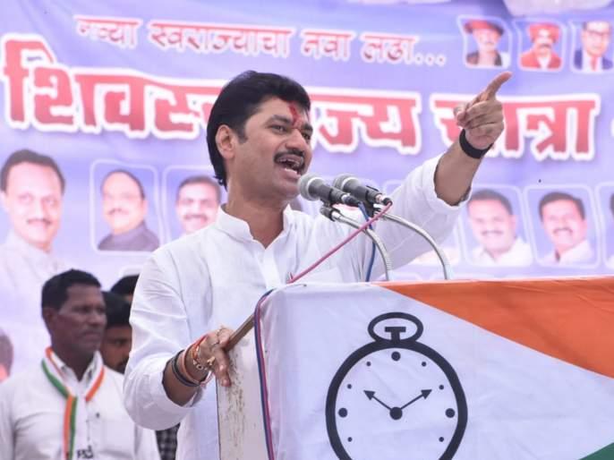Dhananjay Munde political attack on Ravsaheb Danve | खाऊसाहेब दानवेंनी नेहमी चकवाच दिला: धनंजय मुंडे
