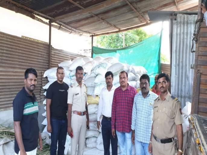 Opening of rationing black market in Baramati taluka, raids of crime investigation   बारामती तालुक्यातील रेशनिंगचा काळाबाजार उघड, गुन्हे अन्वेषणचा छापा