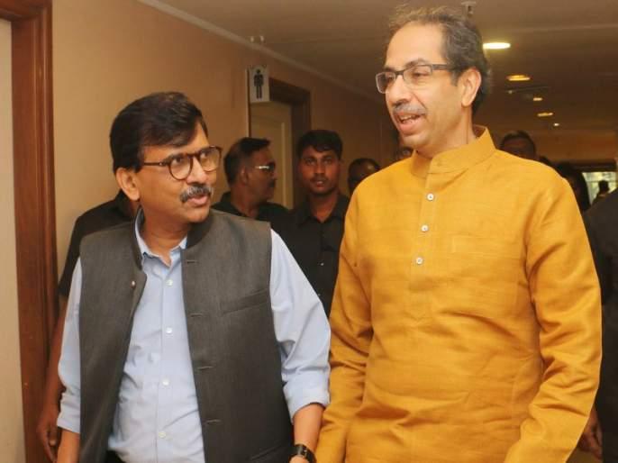 Bihar Assembly Election 2020: Shiv Sena office bearers from Bihar have met Shiv Sena leader Sanjay Raut   Bihar Assembly Election 2020: बिहार निवडणुकीच्या मैदानात आता शिवसेनाही उतरणार?; पदाधिकाऱ्यांनी घेतली संजय राऊतांची भेट