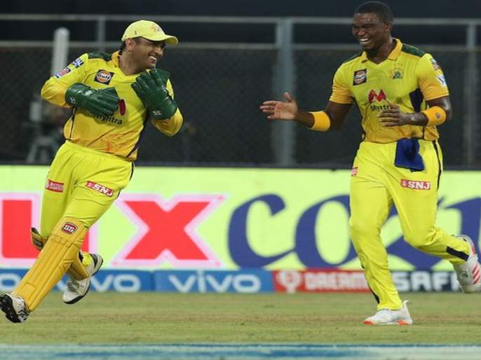 IPL 2021: Dhoni's Chennai Express thrills victory   IPL 2021: धाेनीच्या चेन्नई एक्स्प्रेसचा थरारक विजय