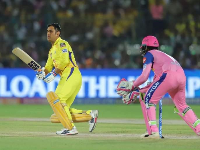 IPL 2019 CSK vs RR live update : शेवटच्या चेंडूवर षटकार ठोकत चेन्नई विजयी | IPL 2019 CSK vs RR live update : शेवटच्या चेंडूवर षटकार ठोकत चेन्नई विजयी