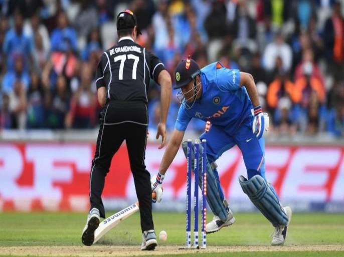 ICC World Cup 2019 FACT CHECK: No, MS Dhoni wasn't run-out on a no-ball in World Cup semifinal - know what actually happened | ICC World Cup 2019 : धोनी बाद होणं, ही खरंच अंपायरची चूक होती का? Fact Check