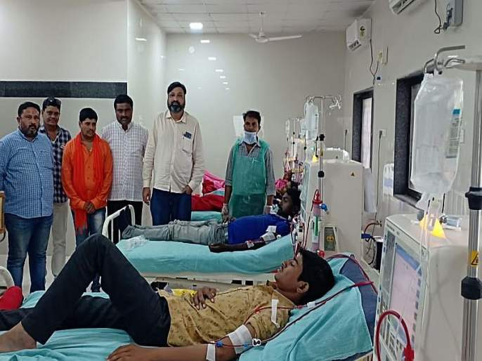 Separate dialysis unit operating in Khamgaon | खामगावात स्वतंत्र डायलेसिस युनिट कार्यरत
