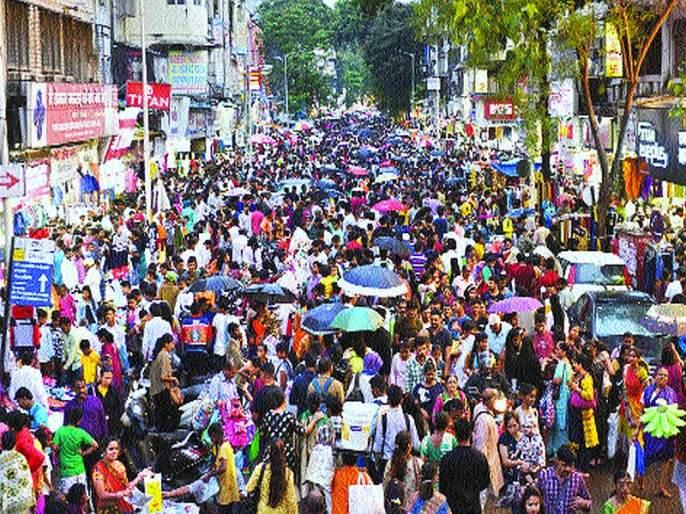 Megablock disruption on Diwali shopping | दिवाळीच्या खरेदीवर मेगाब्लॉकचे विघ्न