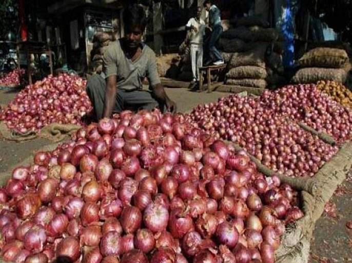 CCTV cameras have been set up by traders to prevent onion trafficking | कांदाचोरी रोखण्यासाठी व्यापाऱ्यांनी लावले सीसीटीव्ही कॅमेरे