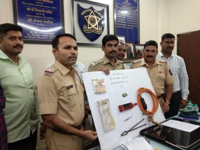 Two accused arrested from Delhi for robbery case | १५ लाखांच्या घरफोडी प्रकरणी दिल्लीवरुन दोन आरोपींना अटक