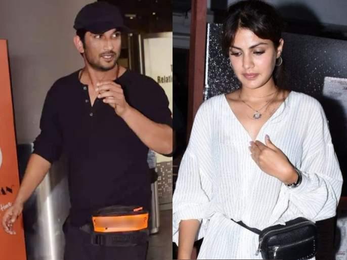 Actor Sushant Singh Rajput and Rhea Chakraborty had a quarrel | सुशांत अन् रियाचे झाले होते कड्याकाचे भांडण; दोघांनीही एकमेकांवर उचलला होता हात
