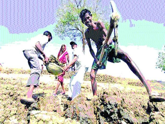 Employment Guarantee Scheme in Shahpur   शहापूरमध्ये रोजगार हमी योजनेला लागली घरघर