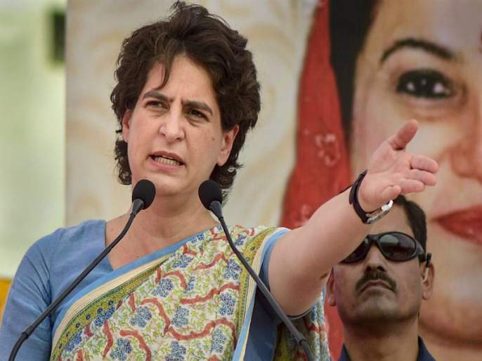 Priyanka Gandhi has criticized the BJP government | कांद्यांच्या किमतीमुळे फक्त अडते झाले श्रीमंत: प्रियांका गांधी