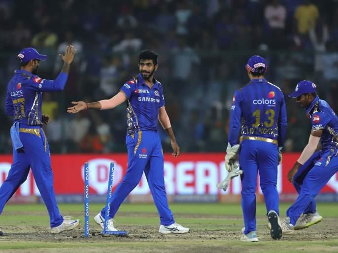 IPL 2019 MI vs DC : मुंबईचा दिल्लीवर 40 धावांनी विजय | IPL 2019 MI vs DC : मुंबईचा दिल्लीवर 40 धावांनी विजय