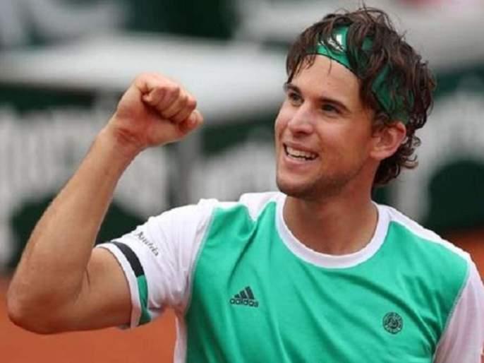 Dominic Thiem's thunderstorm continued, beating Djokovic in the semifinals | डॉमनिक थिएमचा झंझावात कायम, जोकोविचला नमवून गाठली उपांत्य फेरी