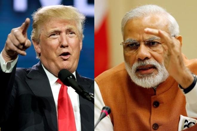 PM Narendra Modi had a telephone conversation today with US President Donald Trump. | पंतप्रधान नरेंद्र मोदींनी केली डोनाल्ड ट्रम्प यांच्याशी फोन पे चर्चा; पाकबाबत म्हणाले...