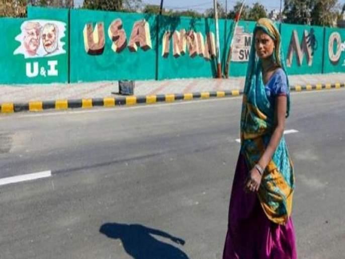 donald trump ahmedabad visit congress twitter narendra modi | 100 कोटी खर्च, 45 कुटुंबीयांना हटविलं तरीही डोनाल्ड ट्रम्प यांच्याकडून डीलला नकार, काँग्रेसची टीका