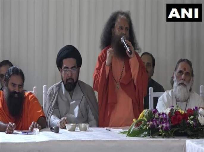 The whole world will be appreciate to india - Swami Chidananda Saraswati   भारताचे संपूर्ण जग कौतुक करेल - स्वामी चिदानंद सरस्वती