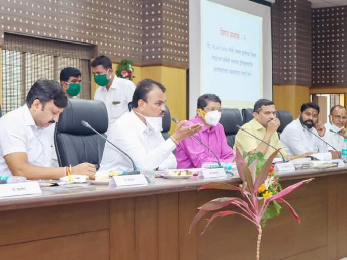 Approval of Solapur District Annual Plan of Rs. 349.87 crore   सोलापूरजिल्हा वार्षिक योजनेचा 349.87 कोटी रुपयांचा आराखड्यासमान्यता