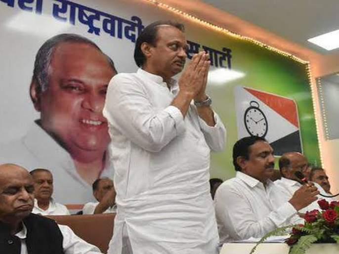 Ajit Dada met me after taking oath as deputy chief minister; Time told by Sharad Pawar   उपमुख्यमंत्रीपदाची शपथ घेतल्यानंतर अजितदादा मला भेटले; शरद पवारांनी सांगितली माफीची वेळ