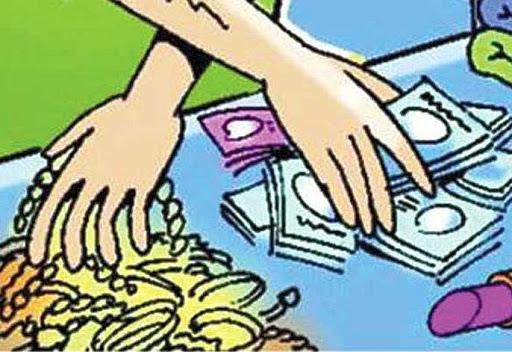 Robbery worth Rs 2 crore 33 lakh near Shegaon (Tal. Jat)   शेगाव (ता. जत) जवळ २ कोटी ३३ लाख रुपयांचा दरोडा