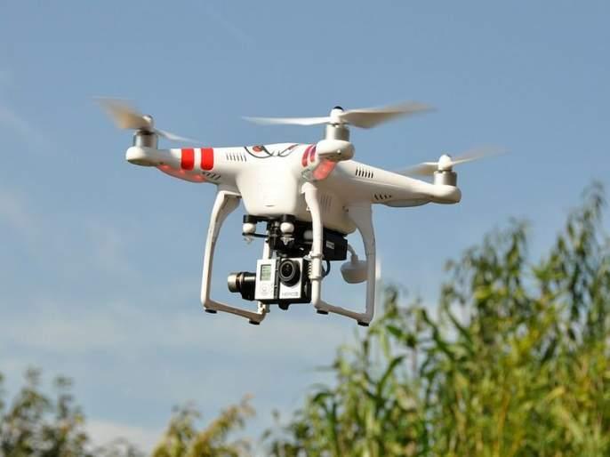 BSF spots 3 drones along Pak border near Hussainwala | पंजाब सीमेवर संशयित ड्रोनच्या घिरट्या, बीएसएफकडून गोळीबार