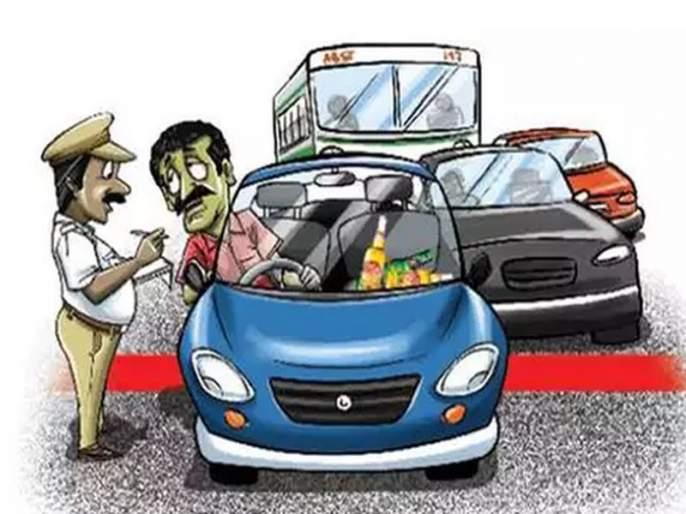 1713 Drunk And Drive Case register in Navi Mumbai | मद्यपी चालकांवर कारवाईचा धडाका, आठ महिन्यांत १७१३ जणांवर गुन्हे दाखल