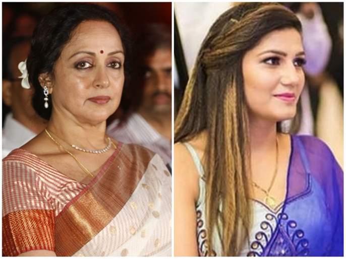 Lok Sabha Election 2019: in Mathura Hema Malini and Sapna Chaudhary fight | Lok Sabha Election 2019 : मथुरेत हेमा मालिनी-सपना चौधरी लढत रंगणार