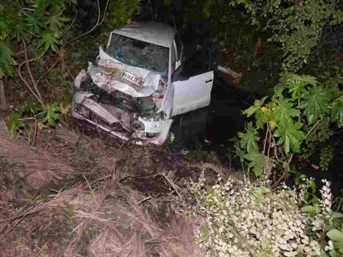 Seven-year-old girl killed in dumper-car collision | डंपर-कारच्या धडकेत सात वर्षीय बालिका ठार
