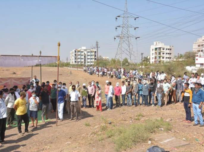 Fear of action; 4,506 citizens do corona Test | कारवाइची धास्ती; ४५०६ नागरिकांनी केली काेराेना चाचणी