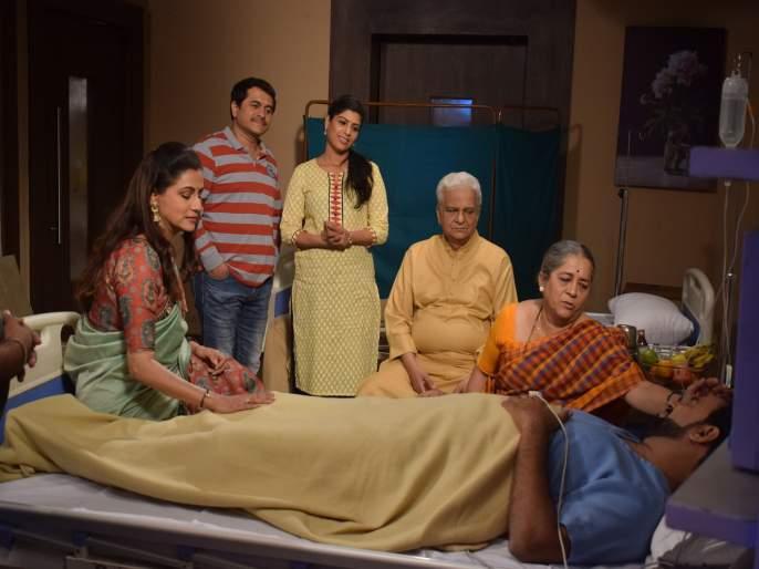Makarand got family support in humbanetumbane | 'ह.म.बने तु.म.बने'मध्ये मकरंदला मिळाली कुटुंबाची साथ