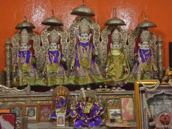Today Ramnavami: Poojan to be ordained; Big Ram Gate closed for devotees! | आज रामनवमी : विधीवत होणार पूजन; भाविकांसाठी मोठे रामद्वार बंद !