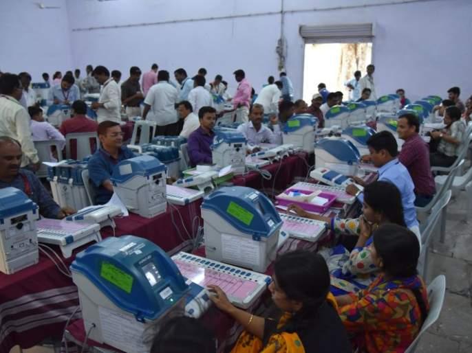 Ready to distribute voting materials; Polling teams depart on Sunday | मतदान साहित्य वितरणाची तयारी पूर्ण; मतदान पथके रविवारी होणार रवाना