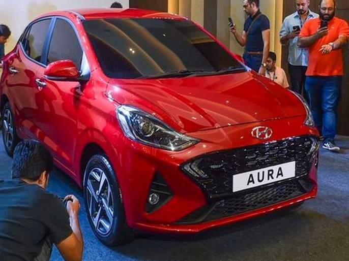 Hyundai launches AURA compact sedan; price tag 5.79 lakhs onwords   Hyundai AURA लाँच; किंमत 5.79 लाखांपासून सुरू