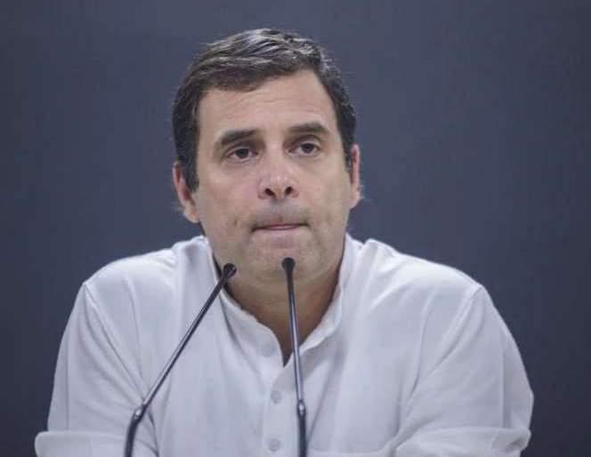 The possibility of Rahul Gandhi resign as congress president   राहुल गांधी अध्यक्षपद सोडण्याची शक्यता