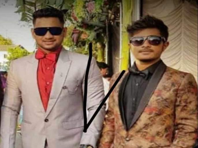 Two siblings died in road accident   अपघातात रोडपाली येथील दोन भावंडांचा मृत्यू