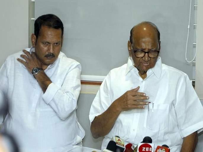 Sharad Pawar's on Udayan Rajane bjp joining, new mumbai rally of ncp   भाजपा प्रवेशावरुन शरद पवारांचा उदयनराजेंना टोला, महाराज...