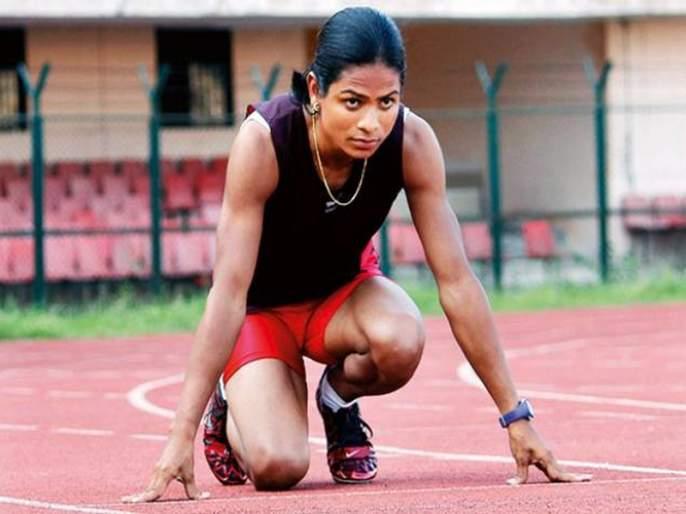 The goal of winning an Olympic medal with the best ability: Twice a few | सर्वोत्तम क्षमतेसह आॅलिम्पिक पदक जिंकण्याचे लक्ष्य : दुती चंद