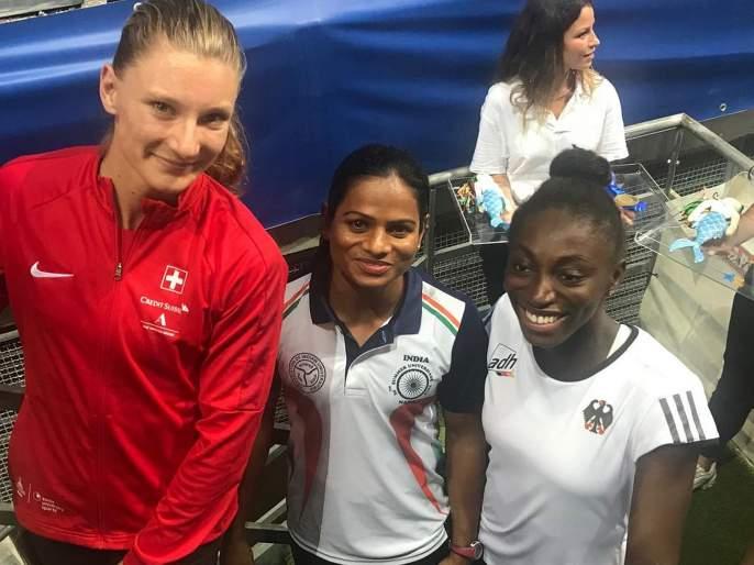 Video: Dutee Chand won the gold medal in the women's 100-metre sprint at the 30th Summer University Games | Video : द्युती चंदचे ऐतिहासिक सुवर्ण; जागतिक स्पर्धेत हा पराक्रम करणारी पहिली भारतीय