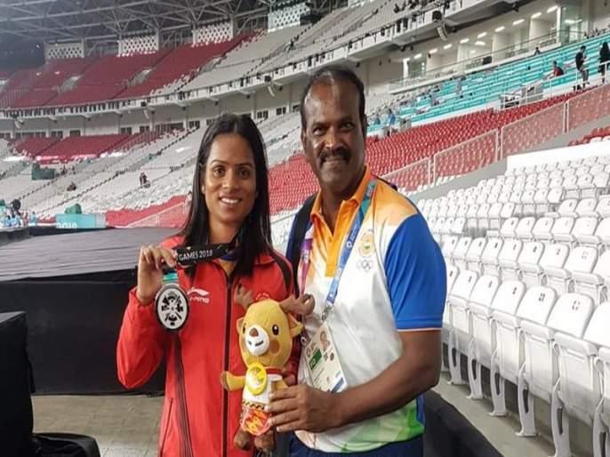 Asian games 2018: Speed-rubber training helped Dutee excel, says coach | Asian Games 2018: म्हणून द्युतीने मिळवले घवघवीत यश, प्रशिक्षकाने सांगितली राज की बात
