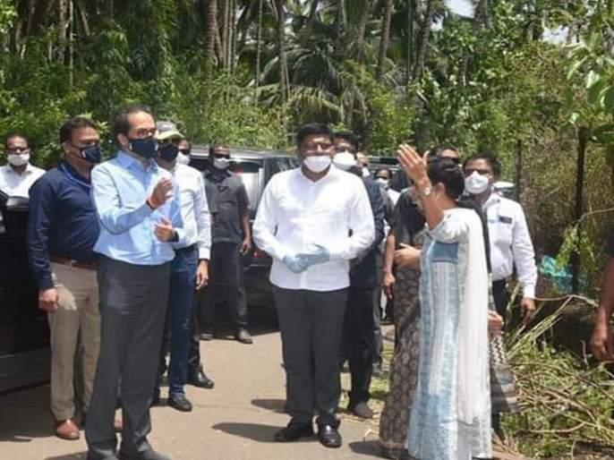 100 crore emergency fund to Raigad for Nisarga Cyclone relef: Uddhav Thackrey | रायगडला तातडीची १०० कोटींची मदत; मुख्यमंत्र्यांची घोषणा