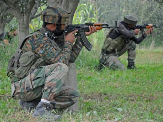 Jawans encircle terrorists in Bandipur; One killed in a skirmish | बंदीपुरामध्ये जवानांनी दहशतवाद्यांना घेरले; चकमकीत एक ठार