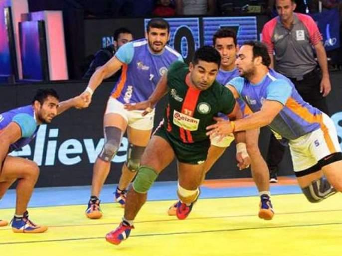 Controversy over India team going to Pakistan for Kabaddi tournament | कबड्डी स्पर्धेसाठी भारताचा संघ पाकिस्तानमध्ये गेल्याने वाद