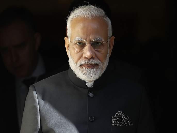 Map of India, image of Modi on it; Surat businessman will give diamond to Narendra Modi | भारताचा नकाशा, त्यावर पंतप्रधानांची छबी; आजोबांनी घेतलेला हिरा देणार नरेंद्र मोदींना भेट