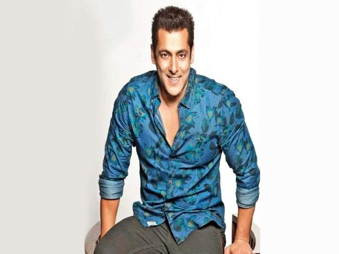 Salman Khan accepted challenge at Dance +5 dance show stage   'डान्स +5'च्या मंचावर स्पर्धकांचे टॅलेंट पाहून भाईजानने स्वीकारले हे चॅलेंज