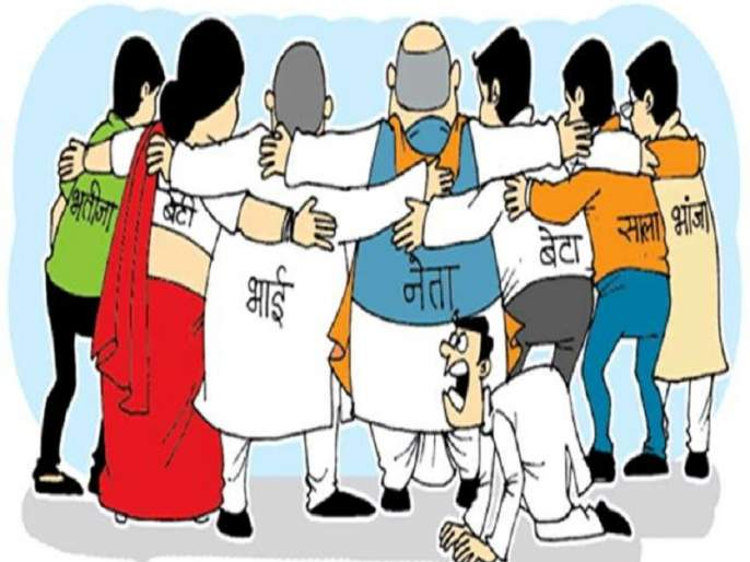 Maharashtra Election 2019 : Dynasty in politics wants billions of billions | घराणेशाहीला हवा, कोट्यवधींचा मेवा